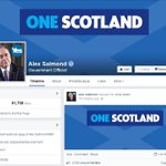 RT @SkyNews: Alex Salmond has changed his Facebook background photo to One Scotland http://t.co/mCJ9qmUv1k #indyref http://t.co/jZBIsXMgNb