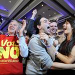 RT @bbcmundo: YA ES OFICIAL: Escocia vota NO a la independencia de Reino Unido http://t.co/DCq5PDV4Ax http://t.co/1PM01qoVos