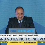 RT @SkyNewsPR: .@AlexSalmond speaking live - now on @skynews http://t.co/oWZNpf8t47