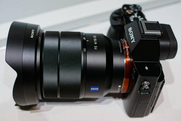 At #photokina our friends from @Sony announced the new Vario-Tessar T* FE 4/16-35 ZA for Alpha 7/R/S #ZEISSphk14 http://t.co/pKz2a3Jeap