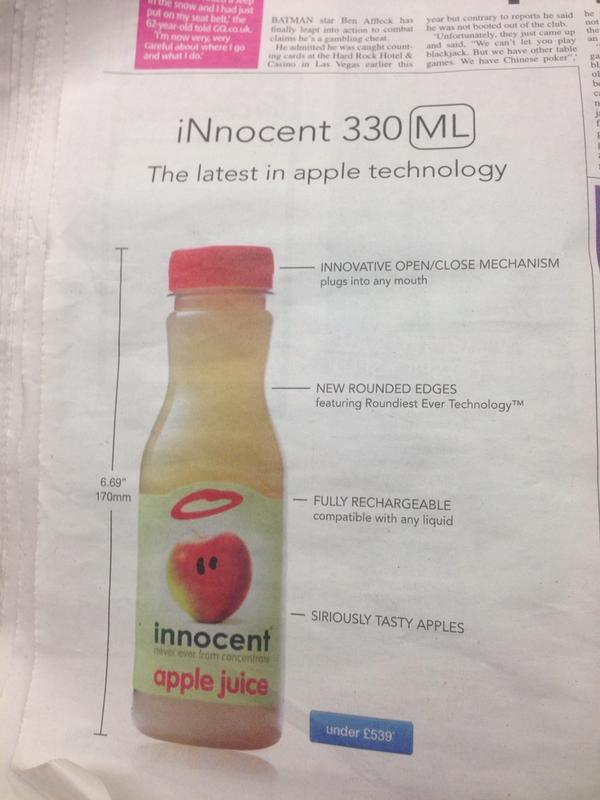 Well played Innocent Smoothies http://t.co/oj0iSAc6LL