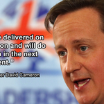 """Prime Minister David Cameron: """"We have delivered on devolution and we will do so again"""" #ScotlandDecides #indyref http://t.co/pC6E0QhfdS"""