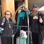 RT @MarkMooney7: The @PAFC invasion has begun. Look who we bumped into at the hotel @7NewsAdelaide @PACS_AFL http://t.co/n1pVdM2UbZ