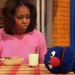 Grover gushes about meeting the First Lady Michelle Obama: http://t.co/aK2smaP7gA http://t.co/GhnaveQwH9