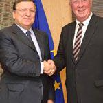 CoR President Lebrun met @BarrosoEU: calls for new partnership for growth in #EU http://t.co/FvAXLWWfRO #EURegions http://t.co/GYRyawNtDW