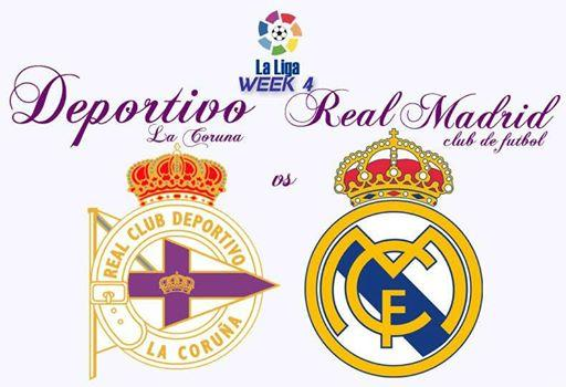 Deportivo La Coruna vs Real Madrid