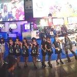 東京ゲームショウ2日目! セガブース・オールラインナップ! さて、明日から一般デイです! 是非遊びに来て下さいね! #TGS2014 #へそ #カデンツァガール真ん中へんにいます #なまえペン http://t.co/6yZ9e4fTL1