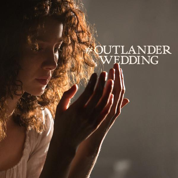 Sam Heughan (@Heughan): …something special to look forward to on Saturday???  #Outlander on @Outlander_Starz at 9pm #OutlanderWedding http://t.co/ODmimH8OCu