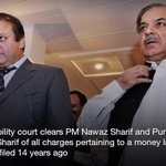 """RT @ayeshanaeem123: """"@dawn_com: Court acquits Sharifs in money laundering case 