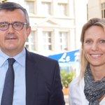 .@AnneBrissaud accompagné @yvesjego #montpellier pour présenter les projets de #Udi pour la France http://t.co/FmXgpaRqQx