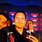 RT @CocaCola: The #CokeZero launch in Bangalore with @Maheshbhupathi, @rohanbopanna and T.Krishnakumar!