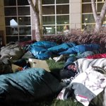 Its hard sleeping outside. No one should have to. Support @changewinnipeg #CEOSleepout http://t.co/w3UN24v45i