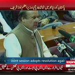 A very positive speech by honorable PM Nawaz Sharif. http://t.co/dk0zmBTFq3 http://t.co/zpAyT7RQF1
