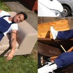 RT @JessHempshall: @MrPeterAndre #FlashbackFriday you working very hard on the set of the first series of 60mm, haha.