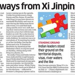 #china india visit #news - Five Big Takeaways from Xi Jinpings Visit to India @EconomicTimes http://t.co/Gtxs7KQxUC