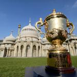 Glinting in the sunlight of Brighton, the Rugby World Cup @BrightonHoveCC #RWC2015 http://t.co/UszZ96cC6l
