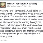 RT @UST_SDP1981: Reminder from our Secretary General. Stay safe and dry, Thomasians! #pray http://t.co/zchcWxp8Pg
