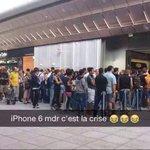 Montpellier Apple Store ce matin http://t.co/ufaUqxr1bU