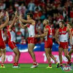 RT @sydneyswans: Were off to the big dance! @MCG next Saturday after a 71-point prelim final win. Swans 136 NM 65 #AFLFinals #goswans http://t.co/5WBd5sZyaa