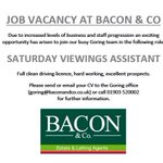 RT @Baconandco1: ???? Another exciting job vacancy at Bacon & Co #Worthing #Lancing @WorthingTown @Iloveworthing @bestofworthing http://t.co/qcgfmrmzOO