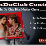 RT @Tamanchey: Watch #InDaClub ft. @Nikhil_Dwivedi & @RichaChadda and participate in our contest! http://t.co/nX4BBZeVbk http://t.co/eryzCM…
