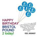 Woohooo! See you later @stnicksmarket @BristolPound @BristolCULtd @real_economy #BristolPoundBirthday http://t.co/wN77LPrT6G