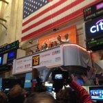 RT @emilychangtv: Alibaba ringing the bell @nyse http://t.co/k7FAM1ccZK