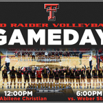 RT @TechAthletics: Its Red Raider Volleyball Gameday! Well see you at the United Supermarkets Arena. Tickets: $5/$3. #WreckEm http://t.co/wFnU9hSPSN