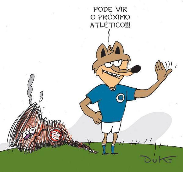 Se é a Raposa quem vai avançar sobre o segundo Atlético na mesma semana, dê RT! #FechadoComOCruzeiro #Cruzeiro http://t.co/dgMYhSkkL3