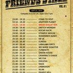 CATAT! Rundown #FRIENDSSTAGE malam ini! http://t.co/AjkfOFyEQm