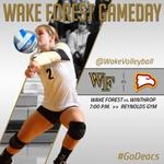GAMEDAY! Wake Forest begins the Deacon Classic tonight at 7 p.m. #GoDeacs DETAILS: http://t.co/4Idpl7bFWr http://t.co/h4gi9njtTY