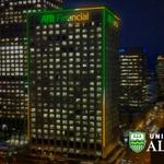 RT @atbfinancial: Workplaces of the world, u-nite! :) ATB Place in #yegdt goes green+gold tonight to celebrate @ualberta, @UofA_Alumni http://t.co/mtCoiMbA5z