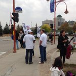 RT @mawwelch: Small Palestinian protest, vastly outnumbered by police. #CMHRopening #CMHR http://t.co/uvqMJDwxIl