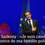 Nicolas Sarkozy : «Je suis candidat à la présidence de ma famille politique» http://t.co/K1F9dOaZbU http://t.co/A9SzFdYXuV