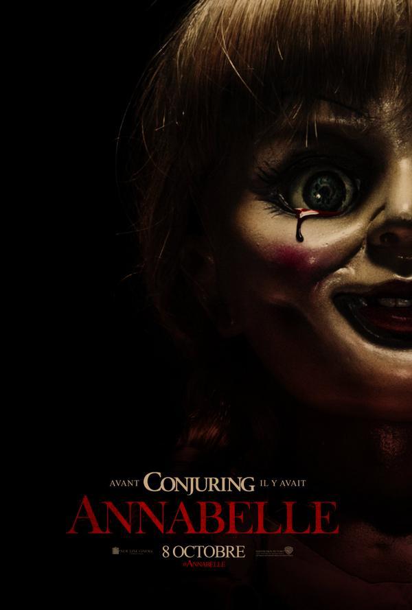 Skyrock  (@SkyrockOfficiel): Vous n'êtes pas prêts pour Elle...#Annabelle #le8octobre #unfilmskyrockcom http://t.co/Xc6w2PxCai