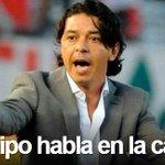 RT @Riverplatecom: Acá te espero, Rojo... El Muñeco no entró en el juego de Almirón y aseguró que su #Riverplate hablará en la cancha. http://t.co/ed1ej7ggsv