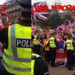 RT @richclements: RT @DaftLimmy: Nazi salutes next to George Square war memorial. http://t.co/nm6CKShFsP