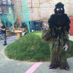 RT @forestgiant: Special appearance by our mascot @ #ReSurfaced http://t.co/tw4h8MHJ17