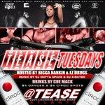 #TeaseTuesdays @ #Tease $5 #dances $5 #ciroc shots @1smurfworld #Atlanta http://t.co/KVP7HDtRN4