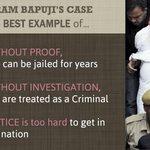 RT @yogwani13: INNOCENT Asaram Bapu Ji is in jail due 2 biased investigation done by Police. #POCSOmisuseExposedGiveBail2Bapuji http://t.co/HeLzRnU8kW