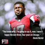 "RT @nfl: Hester ""wasnt happy"" at the end of Bears tenure: http://t.co/ljKciA0vWD http://t.co/6hQwLGJqot"