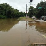 Southbound lanes of Barker Cypress still underwater at Cullen Park @KHOU http://t.co/PPb3glMXAL