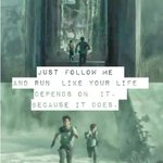RT @itsmovies: The Maze Runner http://t.co/j3UzwcFaY0