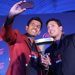 RT @tennis_photos: Selfie time: @Maheshbhupathi and @rohanbopanna during a press conference in Bangalore.