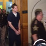 RT @MaryWTHR: Cody Cousins arrives minutes before hearing starts. Courtroom packed http://t.co/YxWPjhPpIy