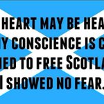 RT @ThereWasACoo: My conscience is clear. I voted FOR Scotland, not AGAINST. Proud to be one of #the45 http://t.co/MqAQ2M6FO7
