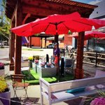 RT @VisitOKC: The @plazadistricts parklet has some sweet shade! Stop by until 4 then head to @SaintsOKC for a beer! #PARKingDayOKC http://t.co/YZs4M8PyTW