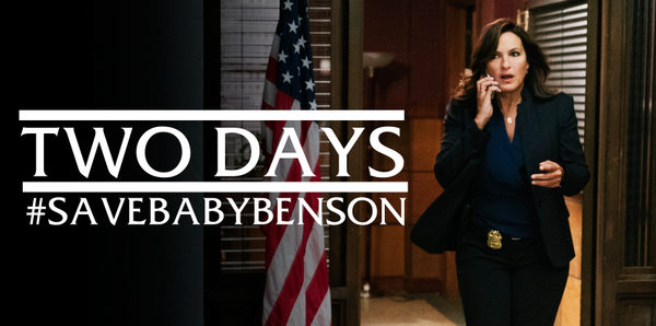 Olivia Benson is back Wednesday at 9/8c and her mission is simple - #SaveBabyBenson. http://t.co/qc4KDaVic6