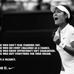 RT @NikeTennis: Just do it. #LiNa #LoveLi