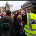 Flag waving Nazis, seigheilling thugs in George Sq, Better Together? not 4some of us, I wanted my children 2b safe http://t.co/ttjB7lJyHT